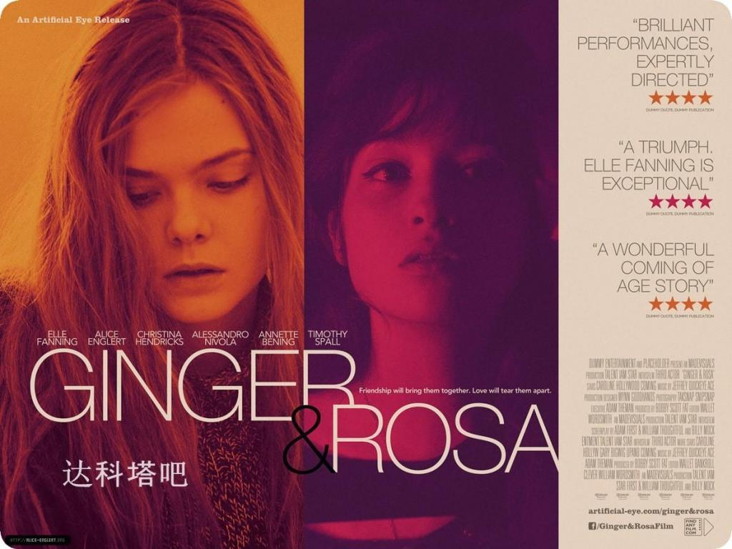 gingerrosa2012postersal Sally Potter   Ginger & Rosa (2012)