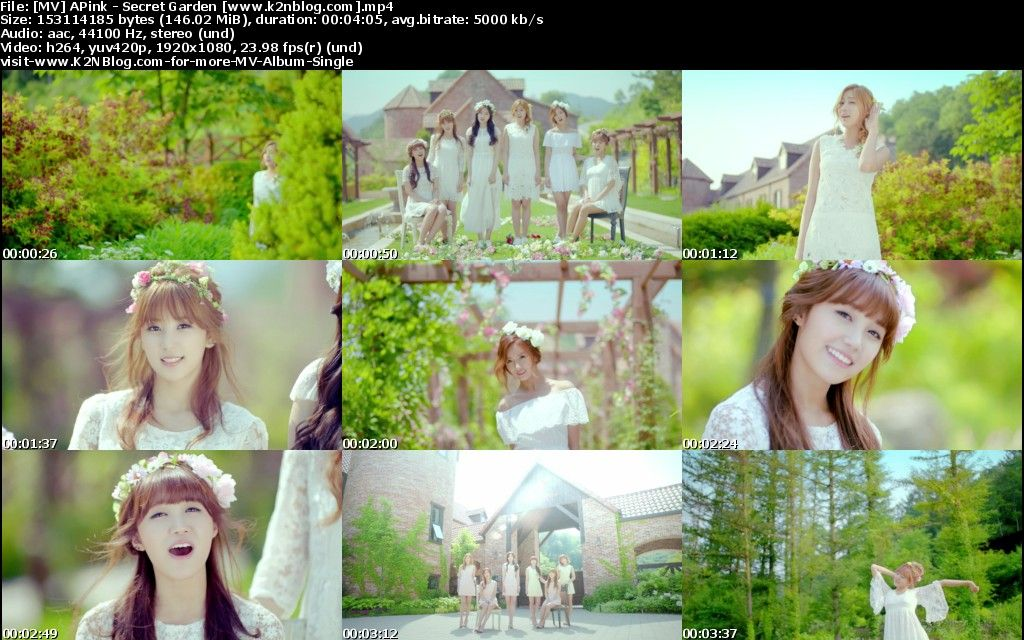 [MV] APink   Secret Garden [HD 1080p Youtube]