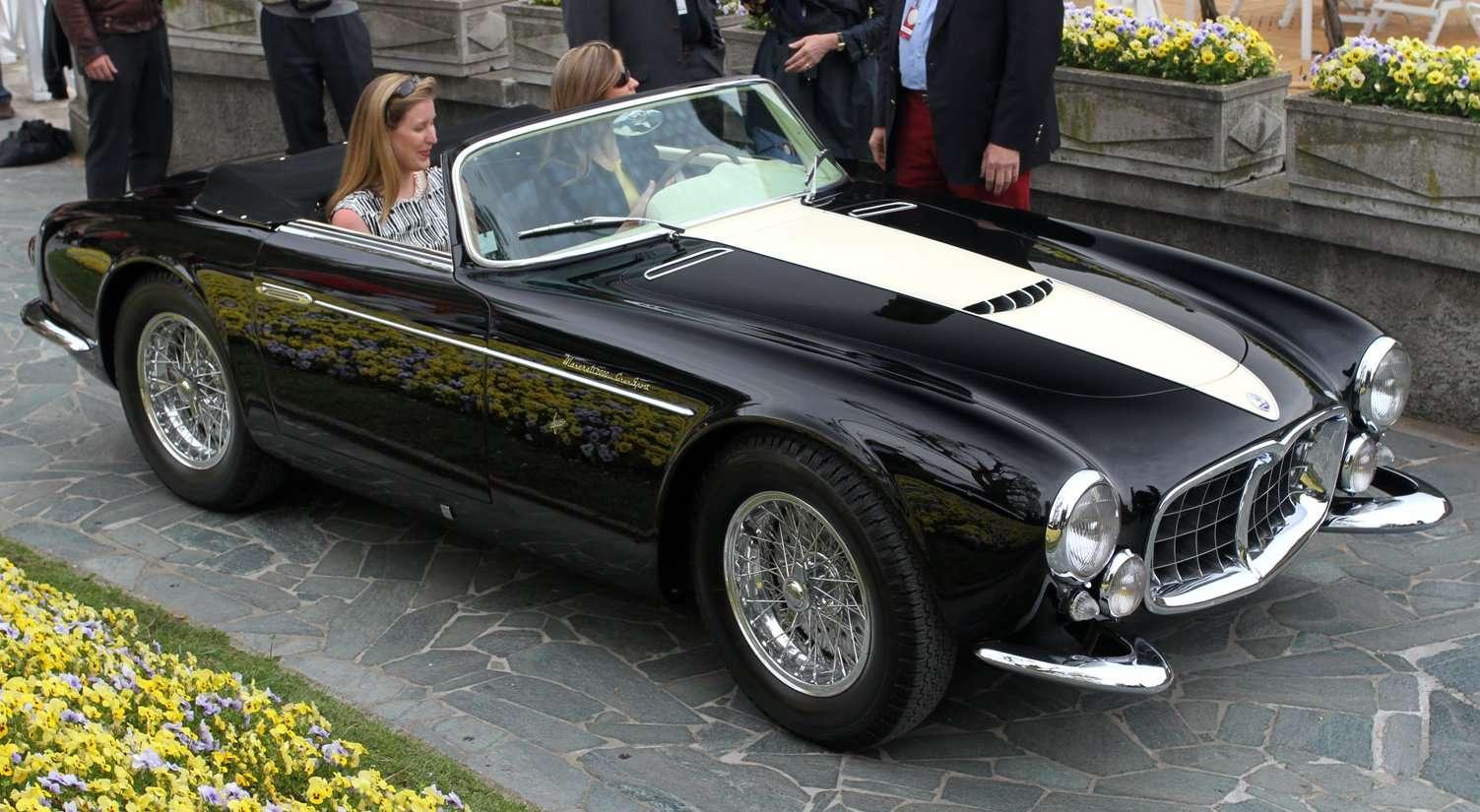 Power Cars Maserati A6 Gcs 53 Spider By Frua