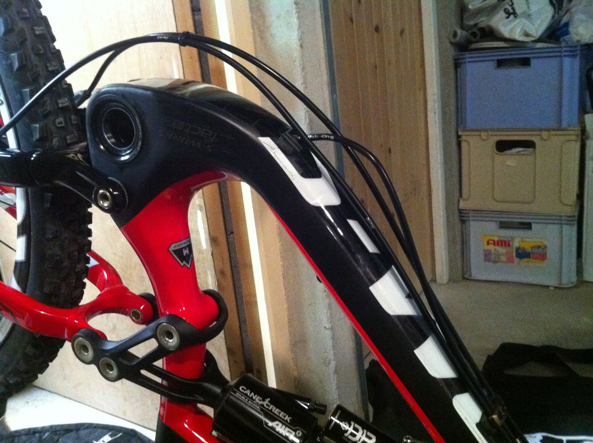 Specialized Internal Routing Amp Rock Shox Reverb Pinkbike