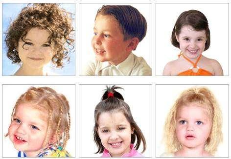 estilos de cabelo para criança