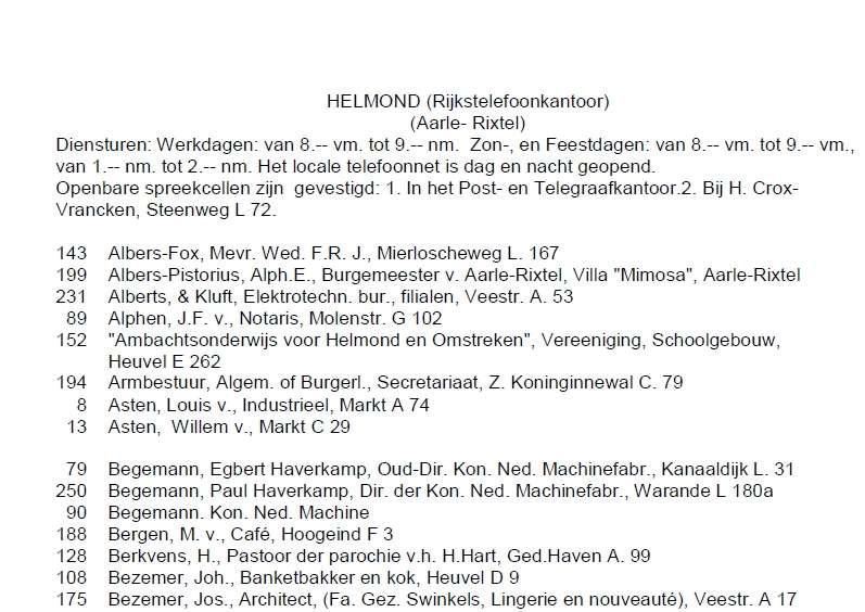 Actualiteit » H e l m o n d (NB), 1915-1916 : bevolking, topografie ...: stamboomforum.nl/actualiteit/2/44691/0/h_e_l_m_o_n_d_nb_19151916...