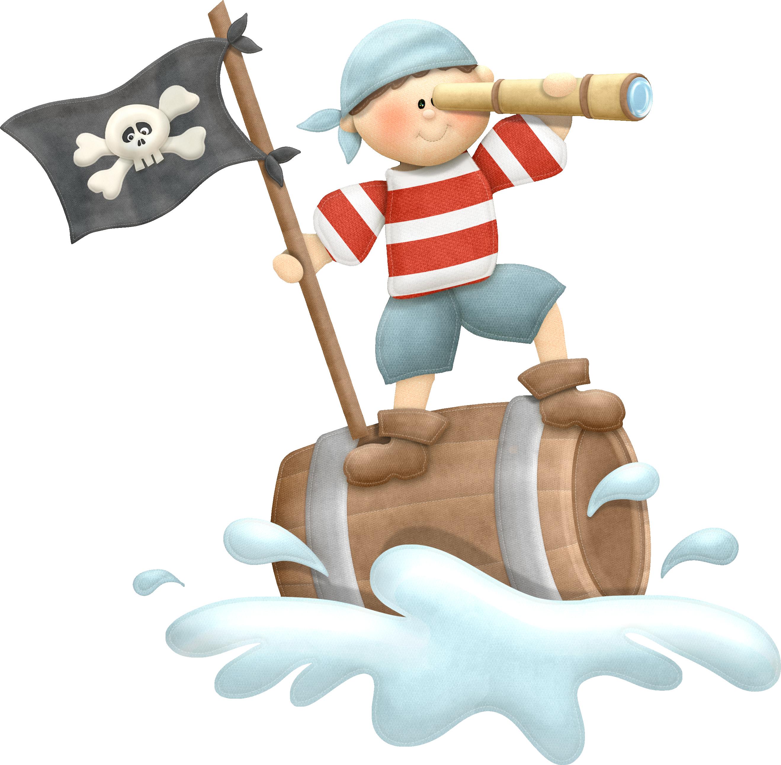 Im genes infantiles pirata con barril - Piratas infantiles imagenes ...