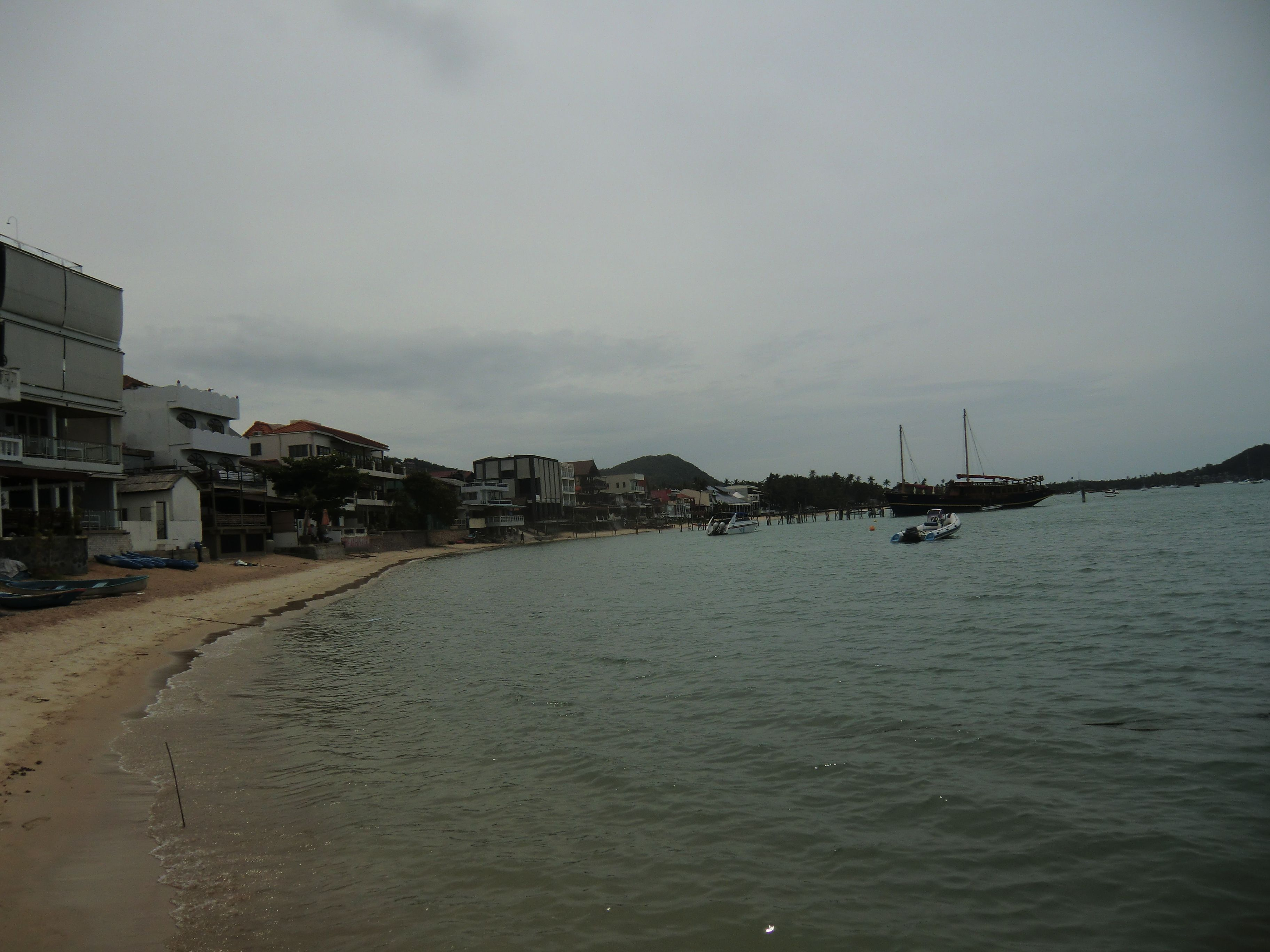 Blick zum Pier