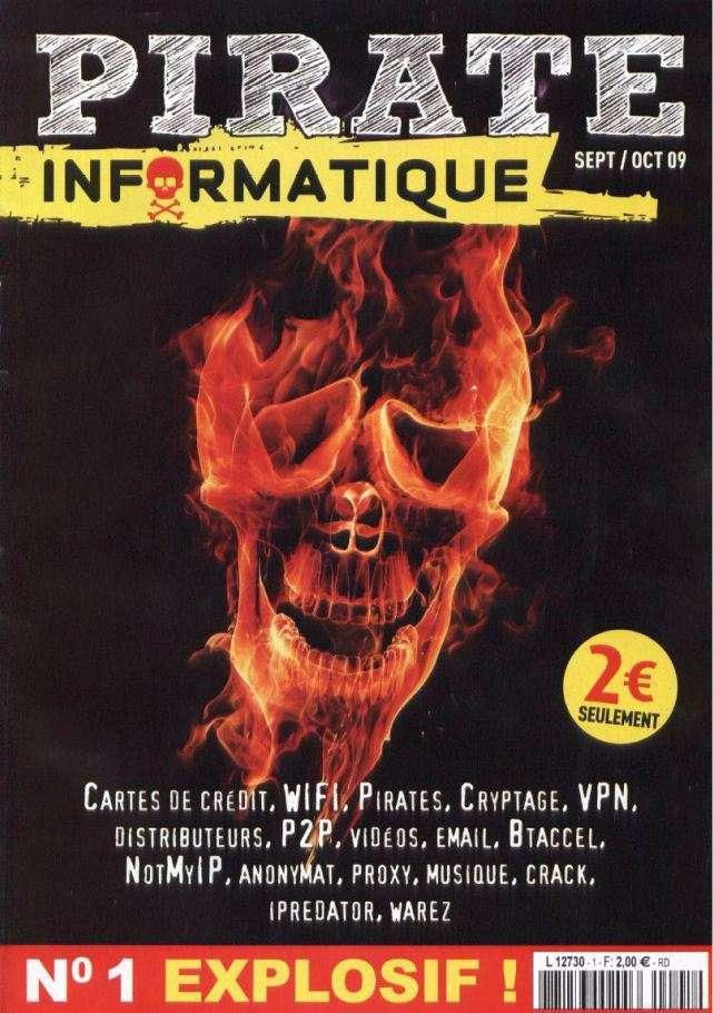 Pirate Informatique N°1 Septembre Octobre 2009