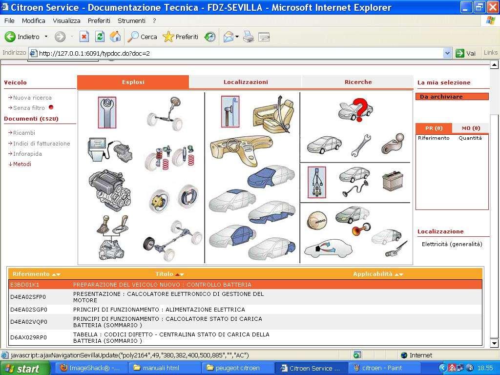 con chiare istruzioni per l'installazione!! Schemi elettrici SEDRE Catalogo  ricambi. Manuale officina
