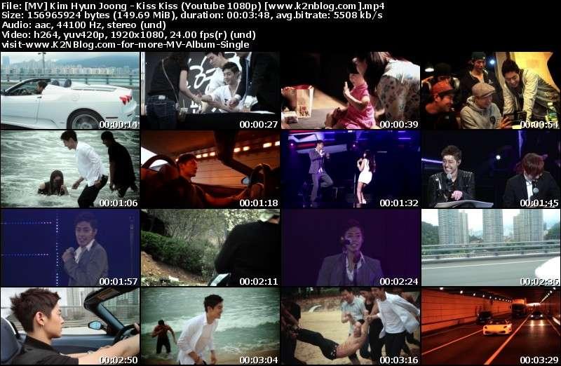 Kim Hyun Joong - Kiss Kiss MV Thumbnail