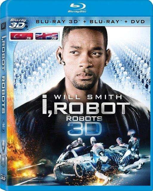 I Robot - Ben Robot 3D Half SBS 1080p.x264 TR/EN